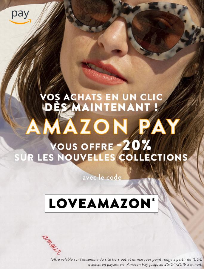 Amazon Pay Femme