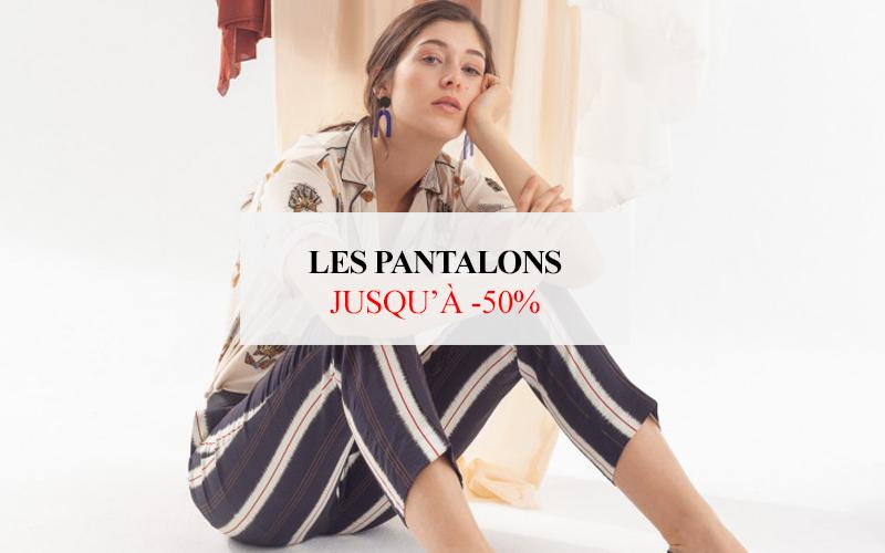 Pantalons & shorts jusqu'à -50%