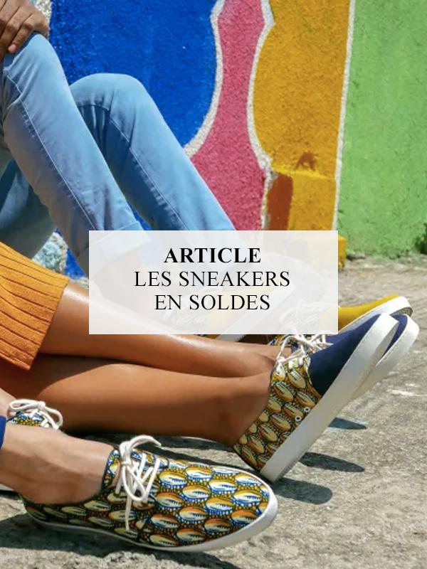 article sneakers en soldes